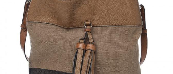 Burberry - House Check Hobo Saddle Bag