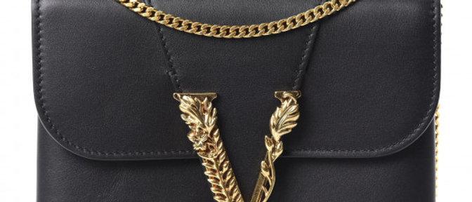 Versace - Vitello Chain Clutch