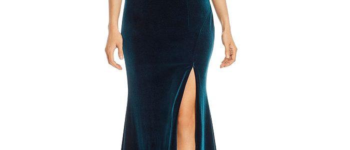 Xscape - Velvet Evening Gown