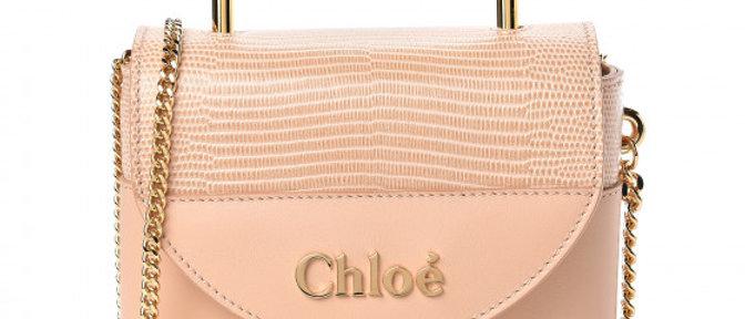 Chloé - Lizard Embossed Mini Satchel
