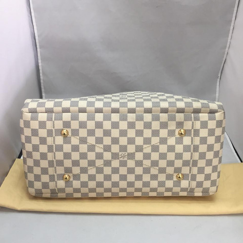 d8dd58ce36cd Louis Vuitton - Artsy Damier Azur MM. SKU  49120.   1