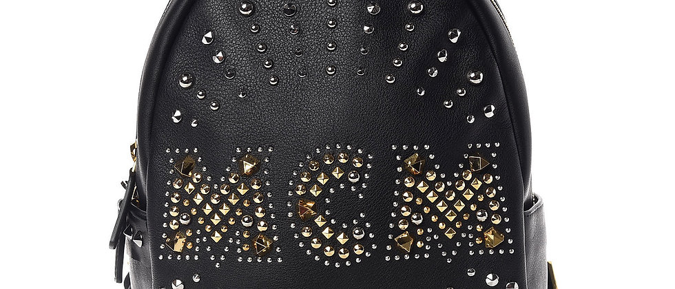 MCM - Studded Backpack