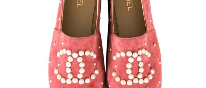 Chanel - Pearl Espadrilles
