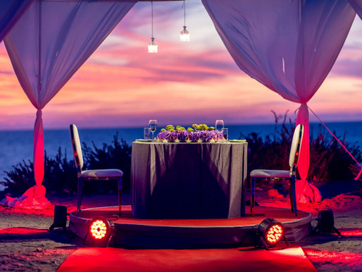 הצעת נישואין על חוף הים בתל אביב