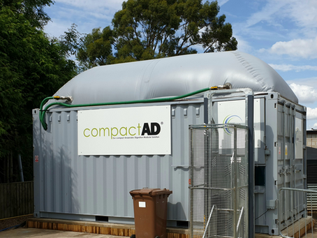 The LAUNCH of Gegan Solutions Ltd compactAD modular solution to Anaerobic Digestion.