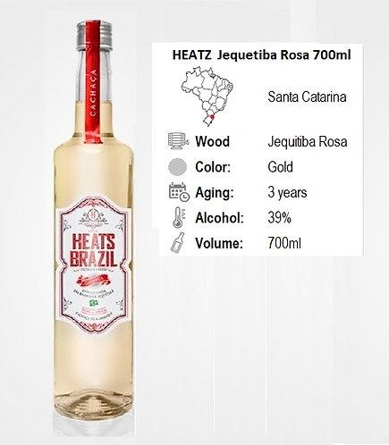 Heatz-Cachaca Jequetiba Rosa 700ml