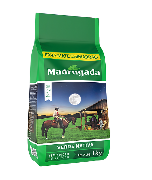 Madrugada Green Tea Native 1kg  vacuum  - V 05/19
