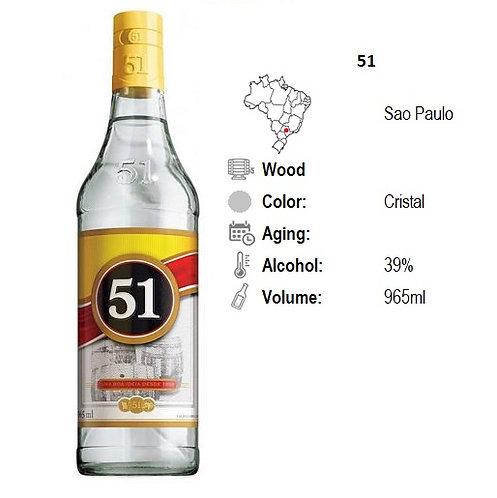 Cachaca 51   965 ml