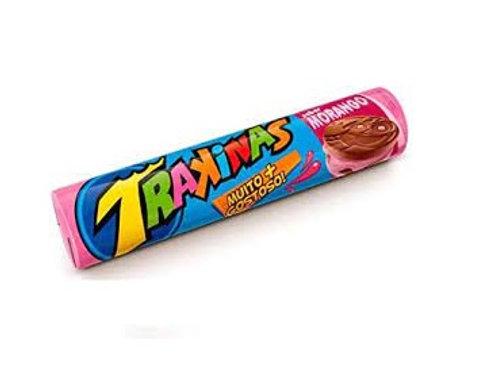 TRAKINAS Strawberry Biscuit 126g