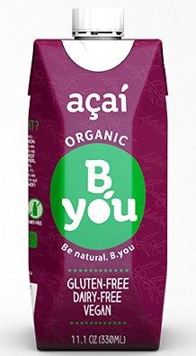 BYOU_Organic Acai Smoothie 330ml - V 11/10/19