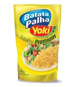 YOKI Slim Potato Crisps  120g - V 16/09/19