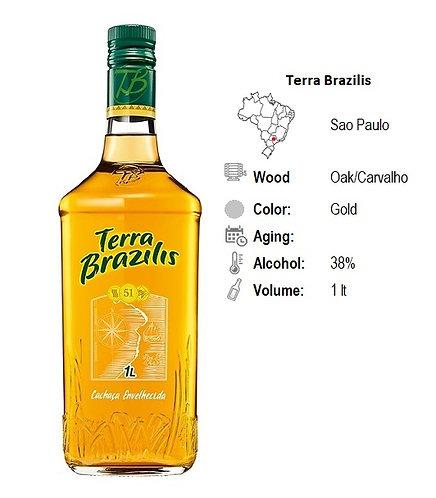 Cachaca Terra Brazilis Gold  38%