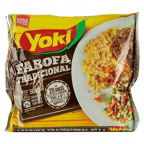 YOKI Seasoned Cassava Flour 500g - V 19/08/19