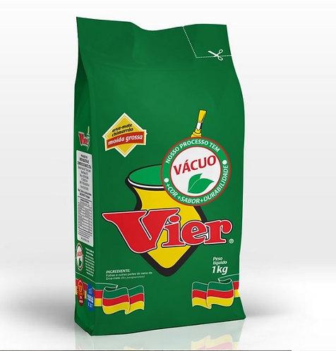 VIER  Green Tea Thickl Ground 1kg vacuum - V 100220