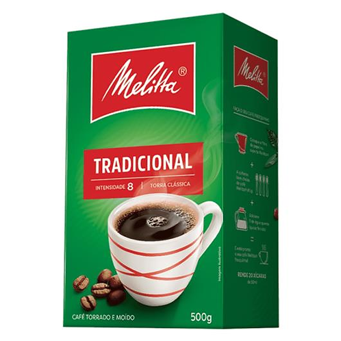 MELITTA Traditional Roasted Coffee Vacuum Pack 500g