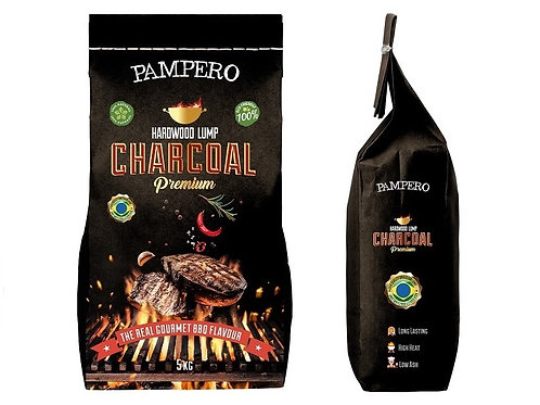 PAMPERO_Hardwood Lump Charcoal  5kh