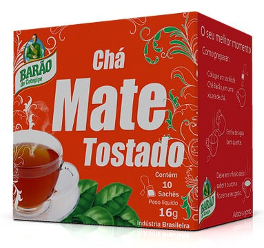 Barao Toasted Mate Tea 16g - V 060920