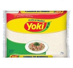 YOKI Raw Cassava Flour 500g - V 24/10/19