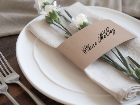 Escort Cards, Place Cards, Seating Charts and what you need to know