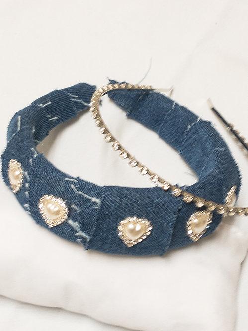 Macy Denim Headband