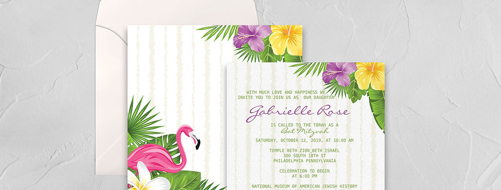 Tropical Bat Mitzvah