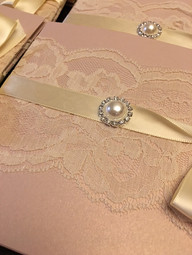 jocelyn wedding invitation shabby chic l
