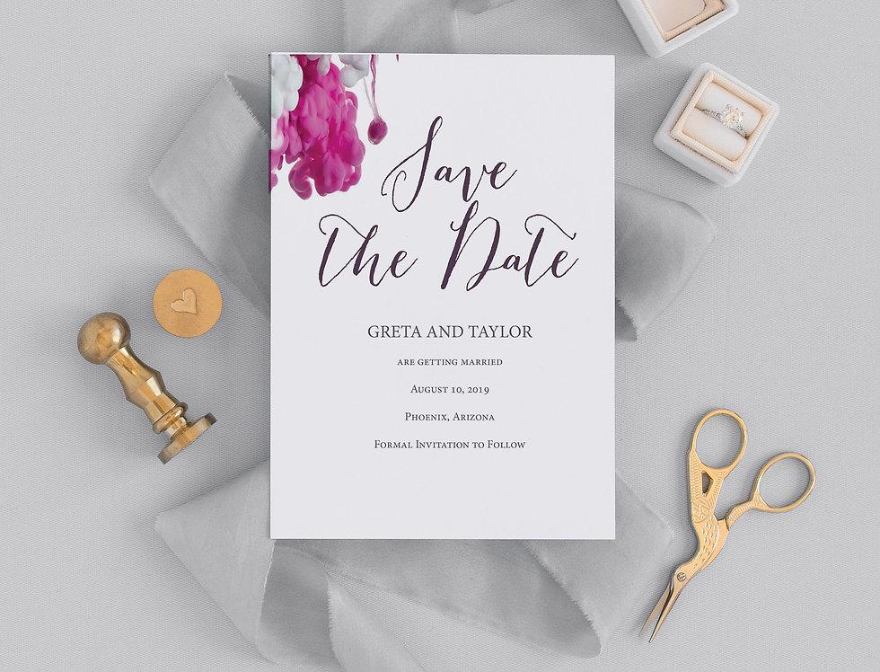 Greta Save the Date