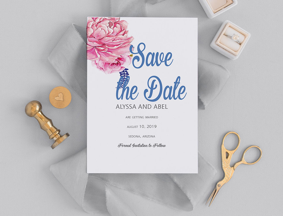 Alyssa Save the Date