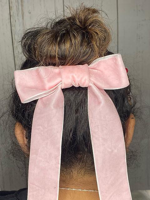 Justine Velvet Hairbow