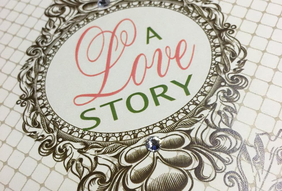 library book invitation, trending wedding invitation, Designer wedding invitation, Los Angeles wedding invitation,