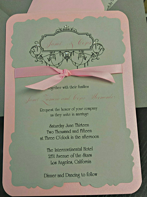 What A Gorgeous Way To Invite Your Guests Wedding