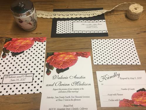 Designer Wedding Invitation Los Angeles Invitations California Couture