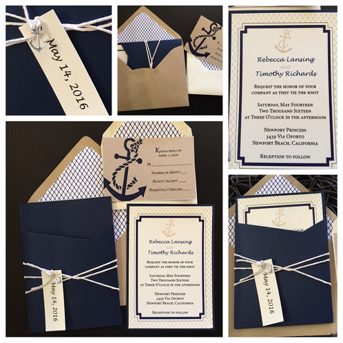 These Gorgeous Invitations Will Set The Tone For Your Wedding Have Guests Talking About Them Days A Nautical