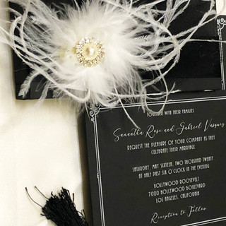 Custom Boxed Wedding Invitation