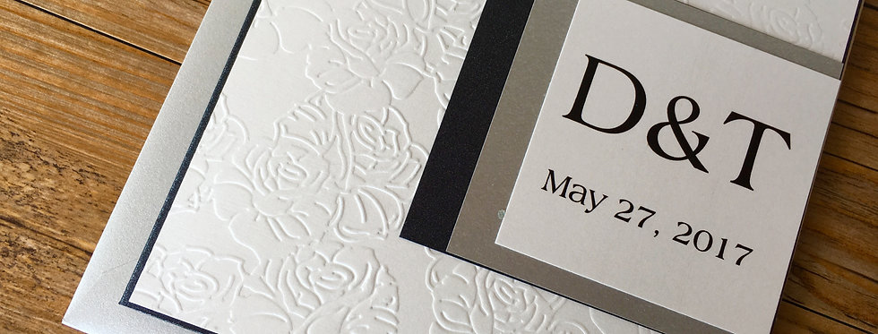 Custom wedding invitation, Couture wedding invitation, Chic wedding invitation, Luxurious wedding invitation,