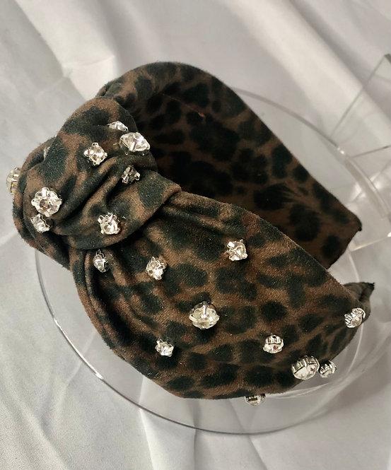 Bella Leopard Print Headband