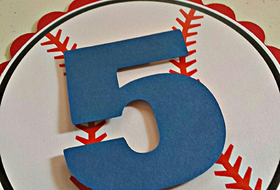 baseball theme birthday party invitation, birthday invitations, amira design, custom invitation, die cut invitations