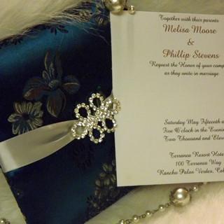 Kimono Wedding Invitation
