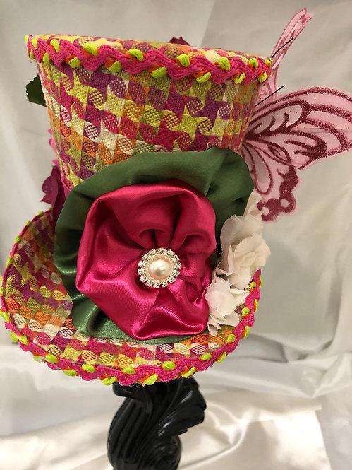 Butterfly Mini Top Hat