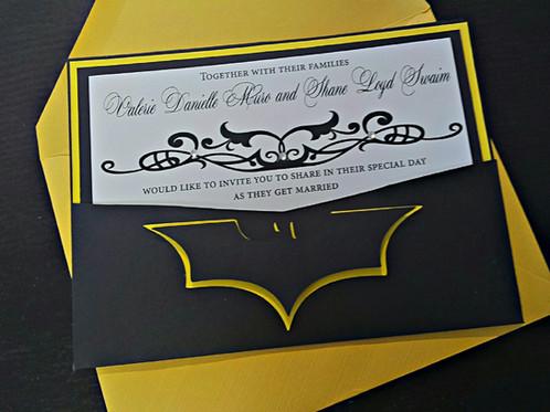 Batman Wedding Invitation