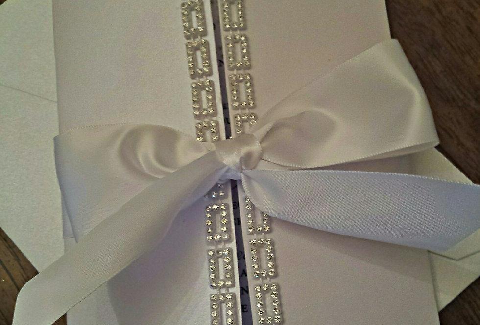 Amira design, Custom wedding invitation, Couture wedding invitation, Chic wedding invitation, Luxurious wedding invitation,