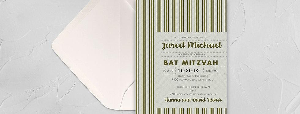 Modern Bar Mitzvah
