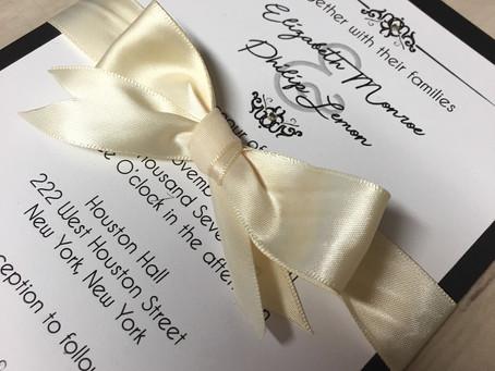 Wedding Invitation - Flourish