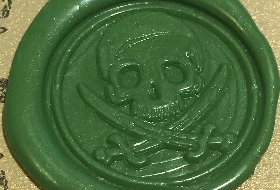 Wax Seal - Skull and Crossbones