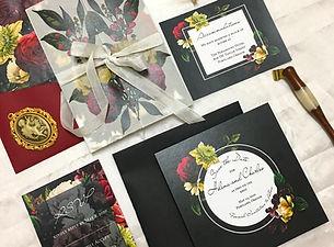 mysterious floral invitation suite (16).