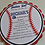 baseball theme birthday party invitation, birthday invitations, amira design, custom invitation, die cut invitations