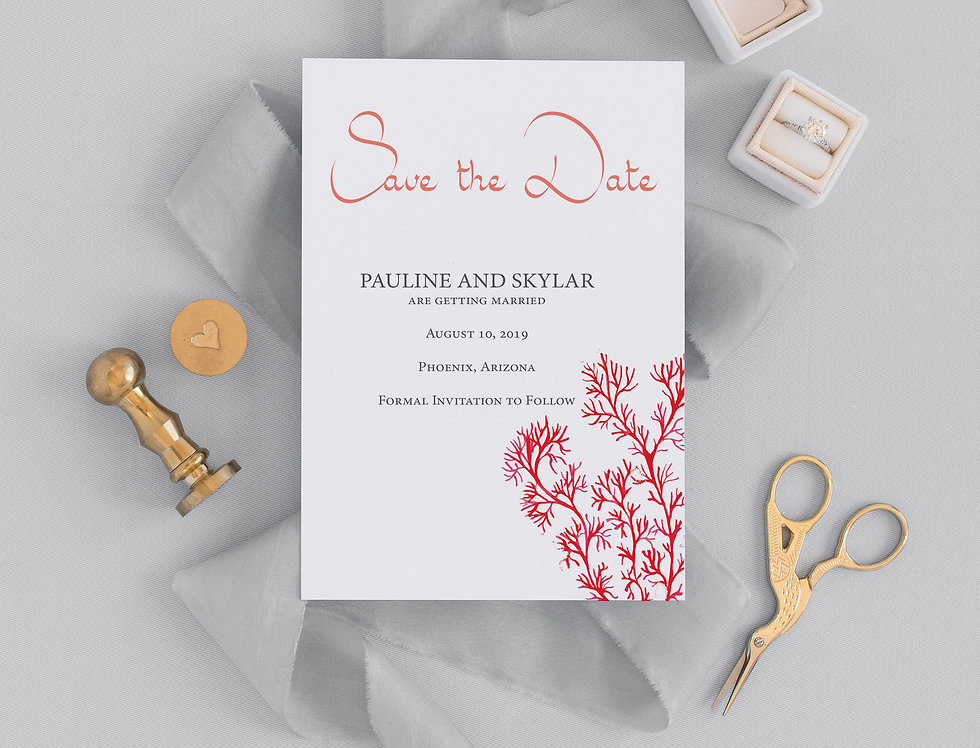 Pauline Save the Date
