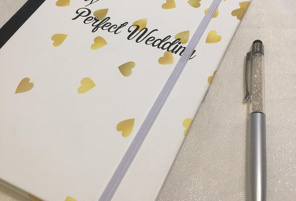 Gold Hearts Wedding Planner