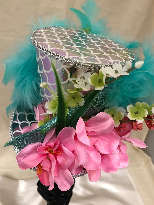 Mermaid Mini Top Hat
