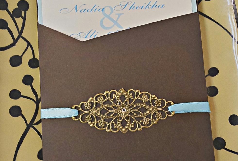 Amira design, Custom wedding invitation, Elegant wedding invitation, Unique wedding invitation, Stylish wedding invitation,